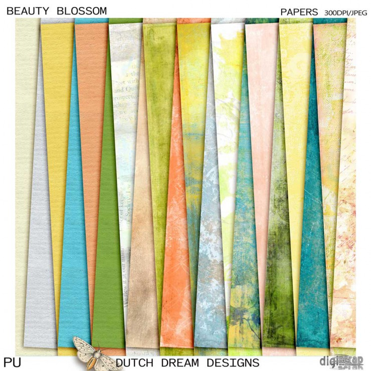 Beauty Blossom -  Papers