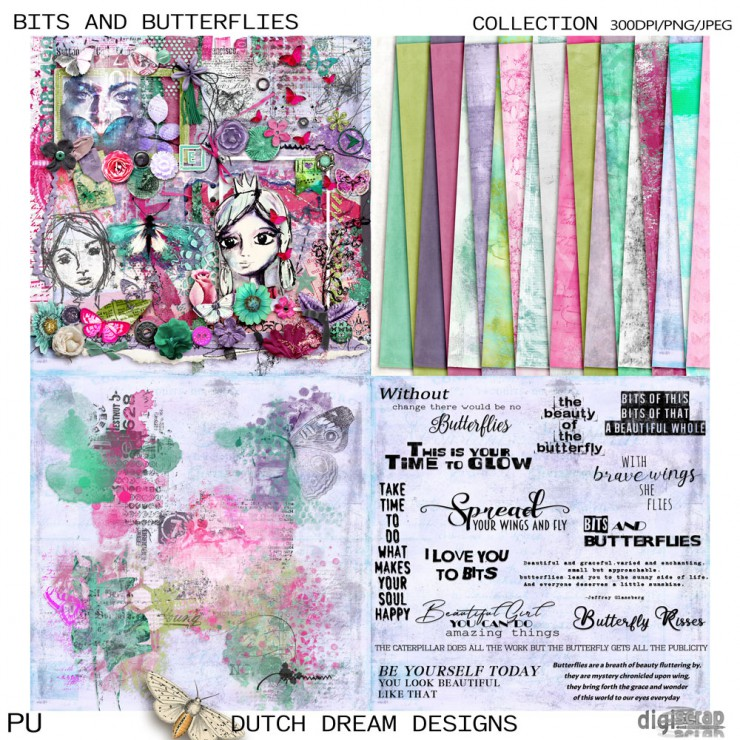 Bits and Butterflies Collection