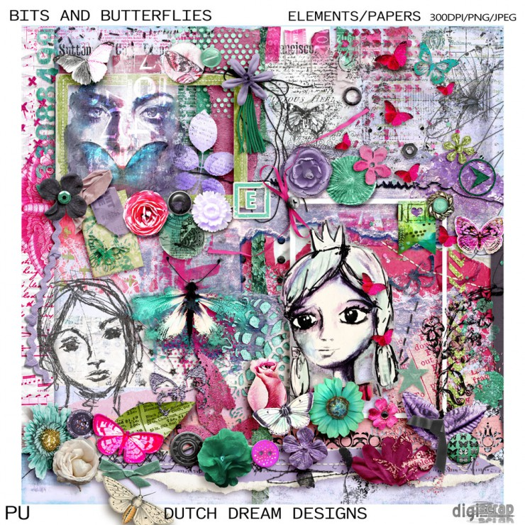 Bits and Butterflies Kit