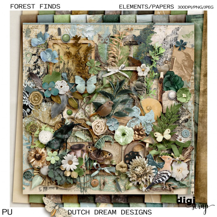 Forest Finds - Kit