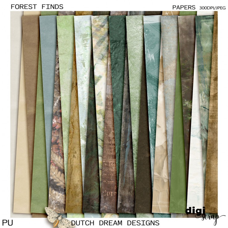 Forest Finds - Papers