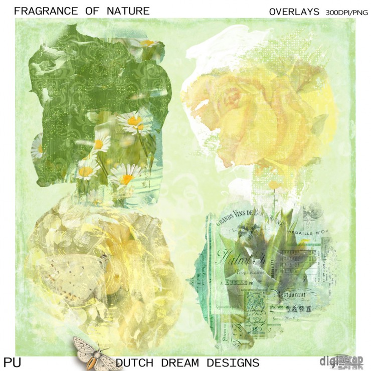 Fragrance of Nature Overlays