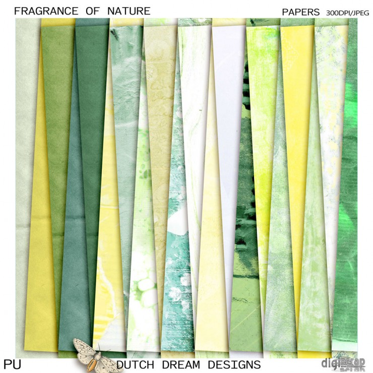 Fragrance of Nature Papers