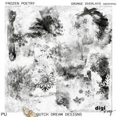 Frozen Poetry - Grunge Overlays