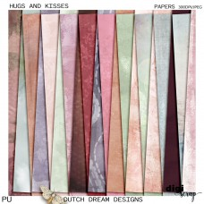 Hugs and Kisses - Papers