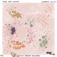 Hugs and Kisses - Shimmers