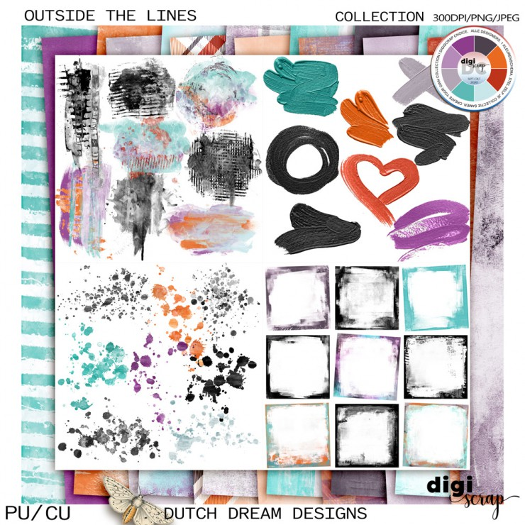 Outside the Lines - Collection CU