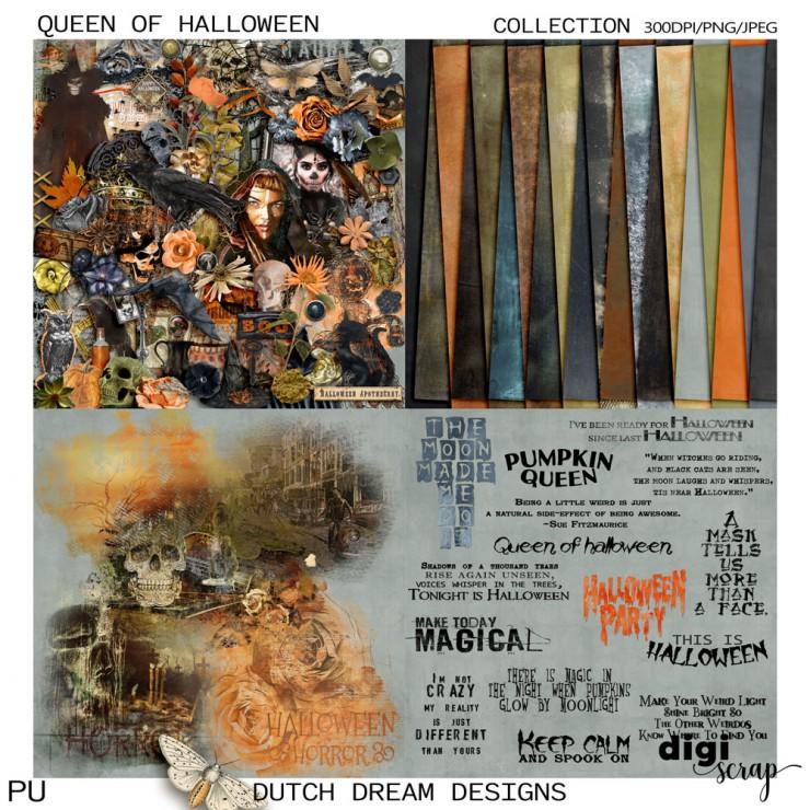 Queen of Halloween - Collection