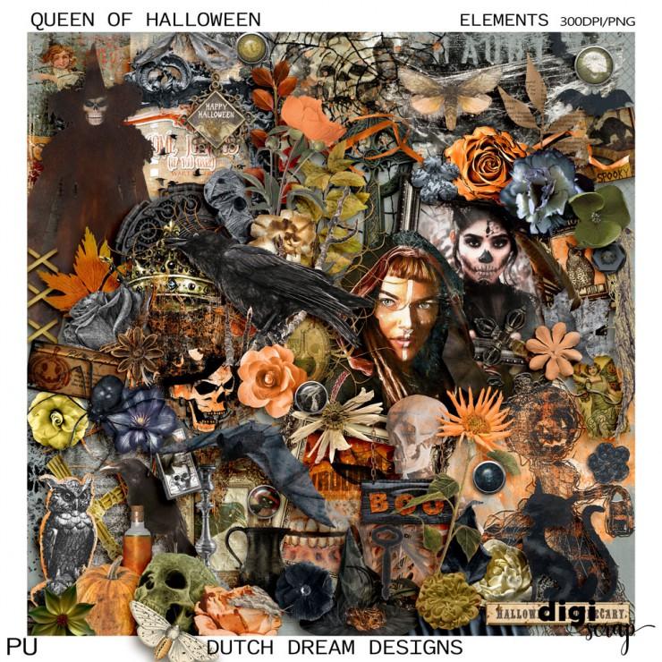 Queen of Halloween - Elements