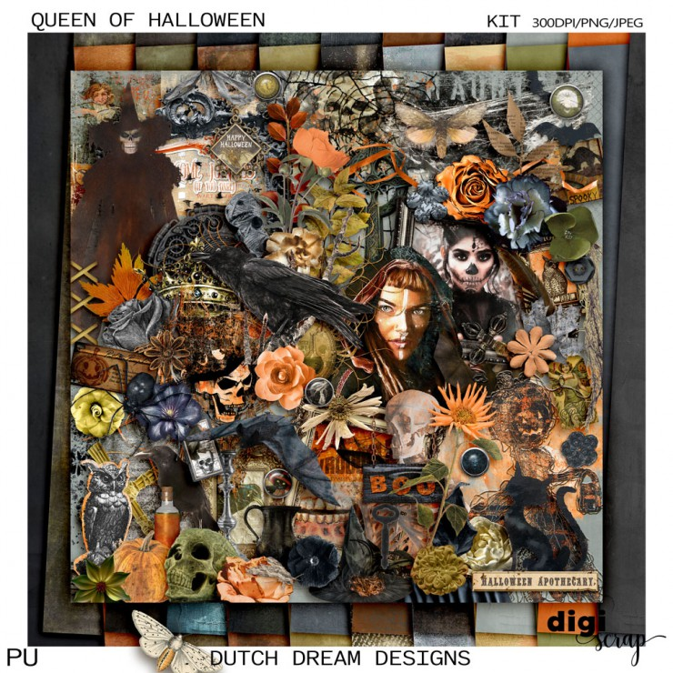 Queen of Halloween - Kit