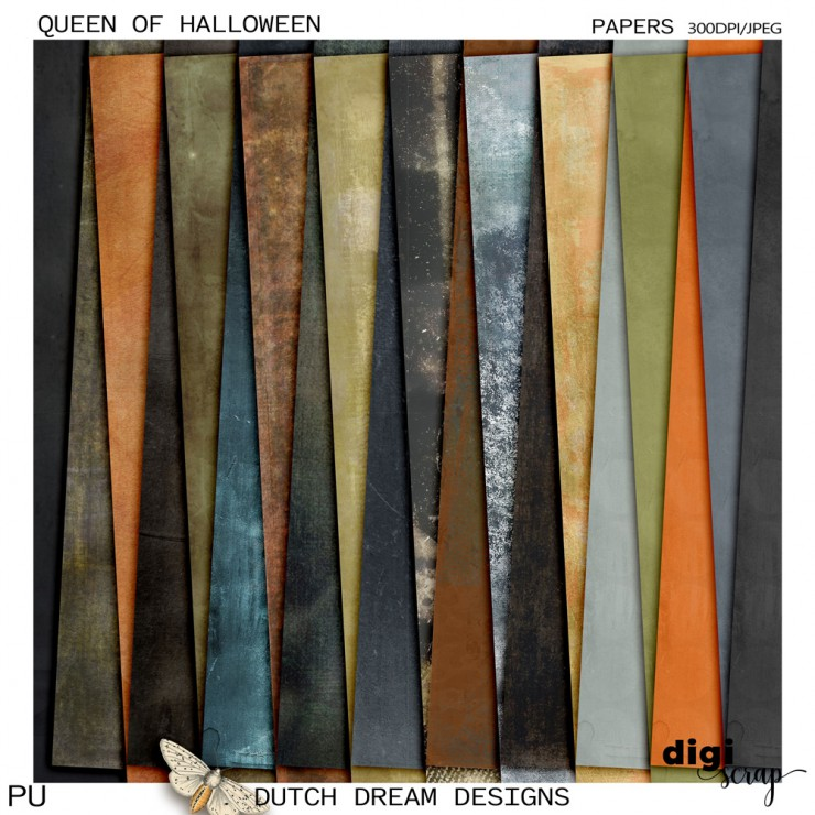 Queen of Halloween - Papers