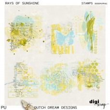 Rays of Sunshine - Stamps