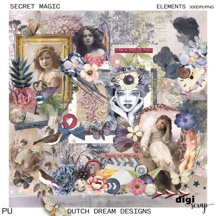 Secret Magic - Elements