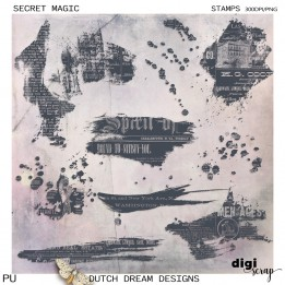 Secret Magic - Stamps