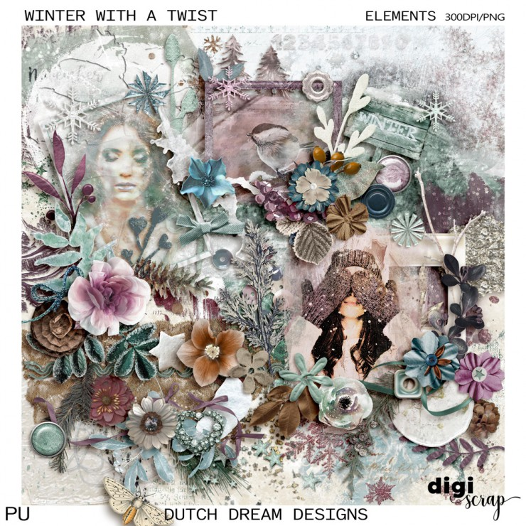 Winter with a Twist - Elements