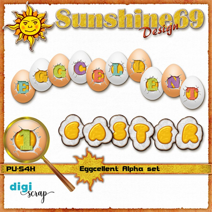 Eggcellent Alpha Set