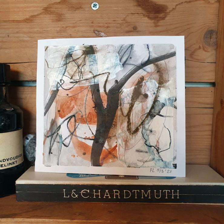 Mini Abstract art - serie 2.6