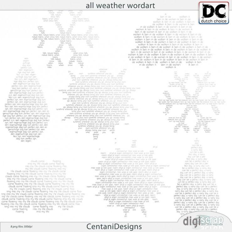 All Weather WordArt