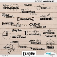 Covid Wordart