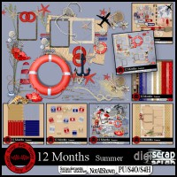 12 months Summer bundle