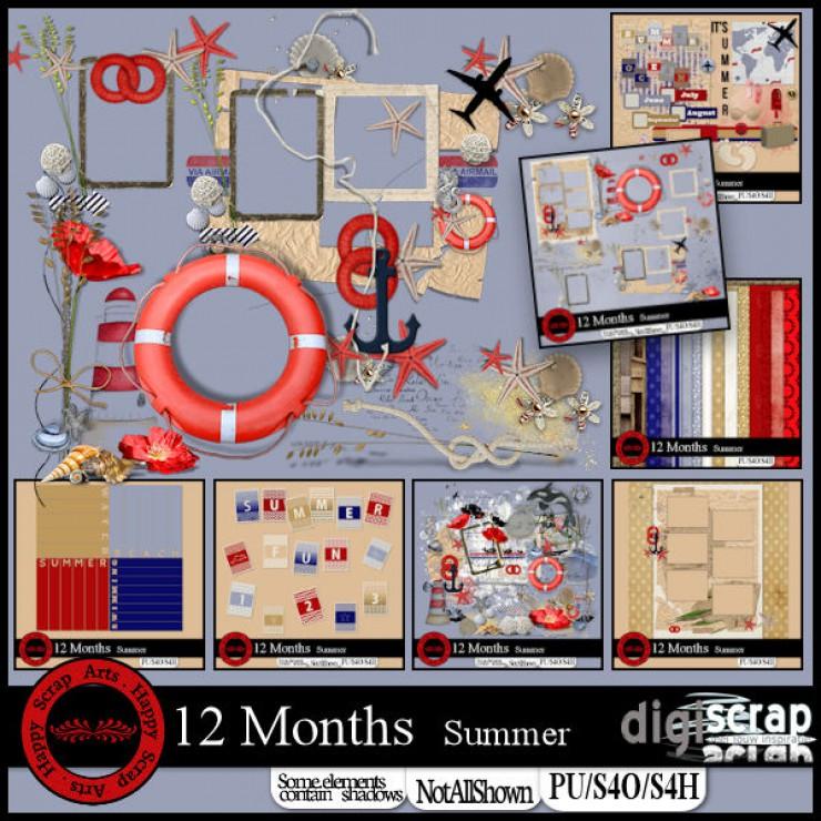 12 months Summer bundle