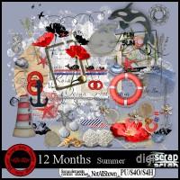12 months Summer kit