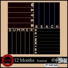 12 months Summer masks