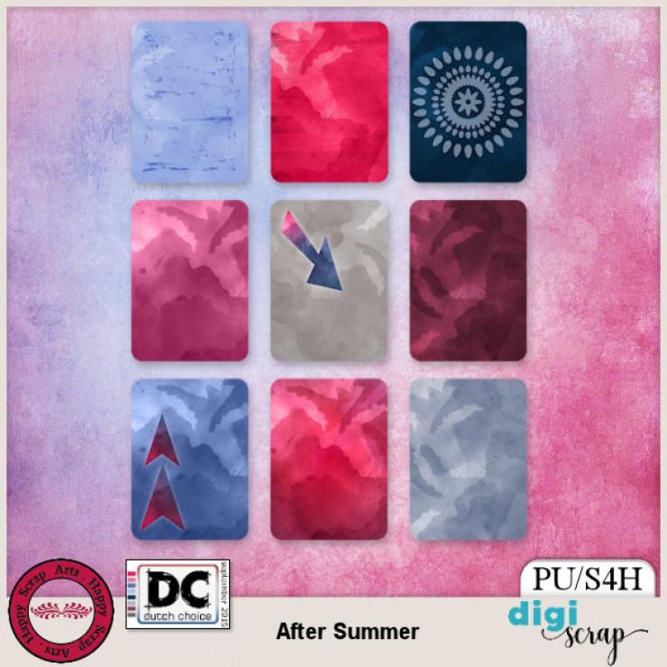 After Summer Journal Cards
