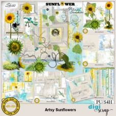 Artsy Sunflowers bundle
