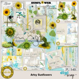Artsy Sunflowers bundle