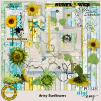Artsy Sunflowers kit