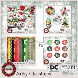 Artsy Christmas bundle