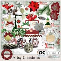 Artsy Christmas kit