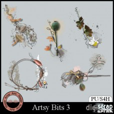 Artsy Bits 3 Clusters