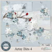 Artsy Bits 4 Clusters