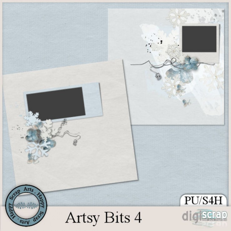 Artsy Bits 4 quickpages