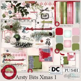 Artsy Bits Xmas 1 bundle
