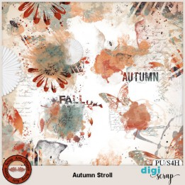 Autumn Stroll accents
