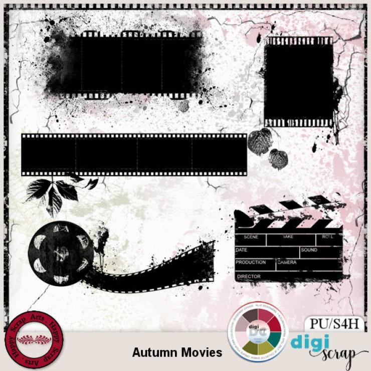 Autumn Movies masks