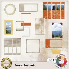 Autumn Postcards Frames