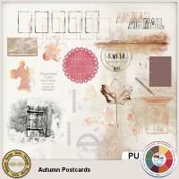 Autumn Postcards BrushaLike