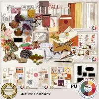 Autumn Postcards Bundle 1