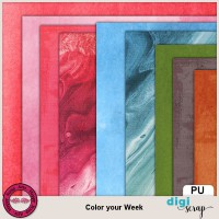 Color your Week papers