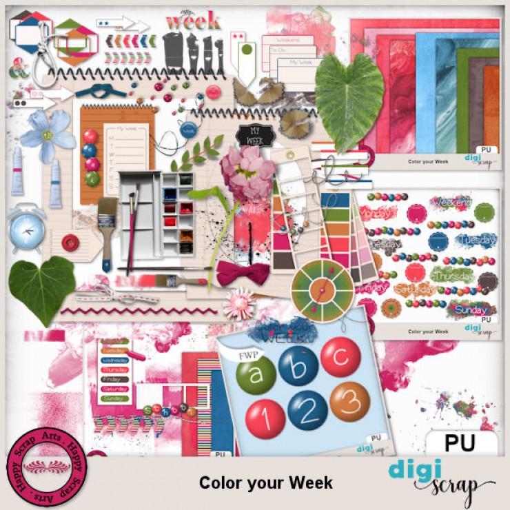 Color your Week bundle