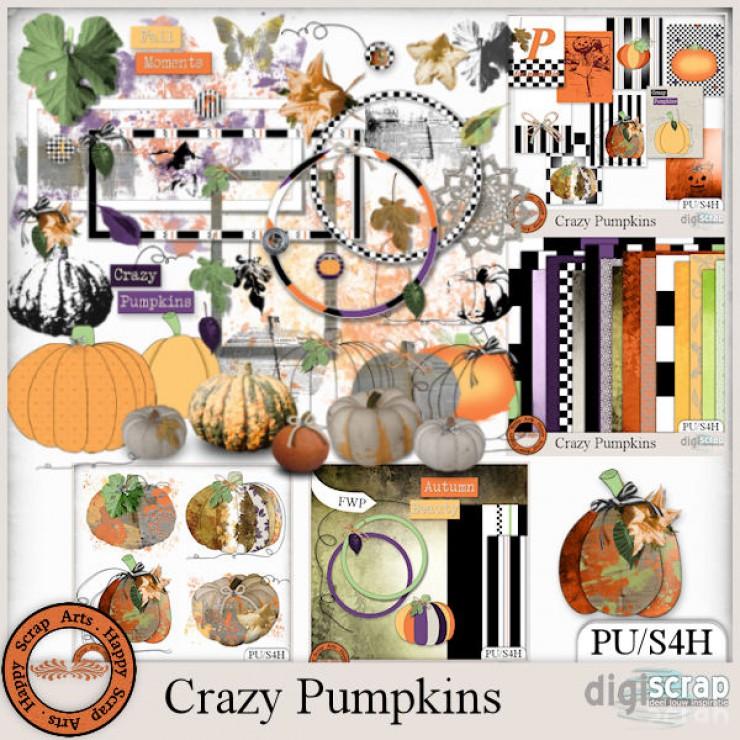 Crazy Pumpkins bundle