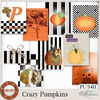 Crazy Pumpkins Journal Cards