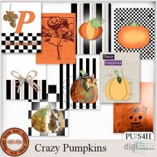 Crazy Pumpkins Journal Cards