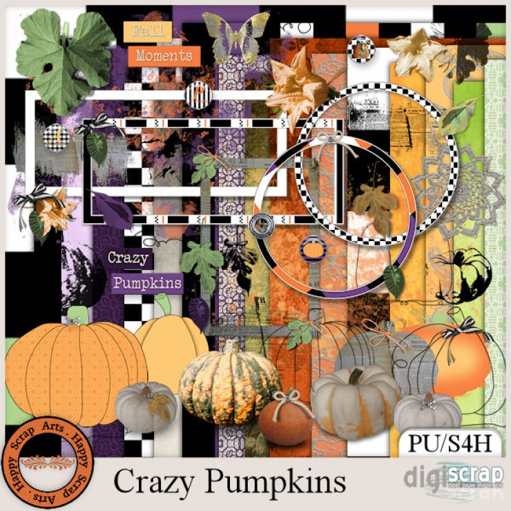 Crazy Pumpkins kit