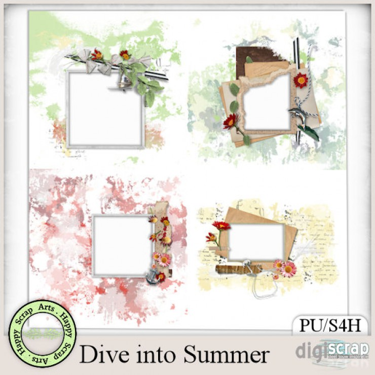Dive into Summer quickpages