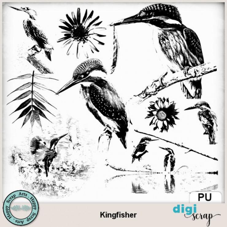 Kingfisher brushalike